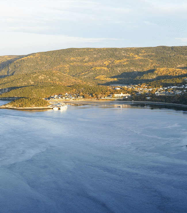 The history of Tadoussac