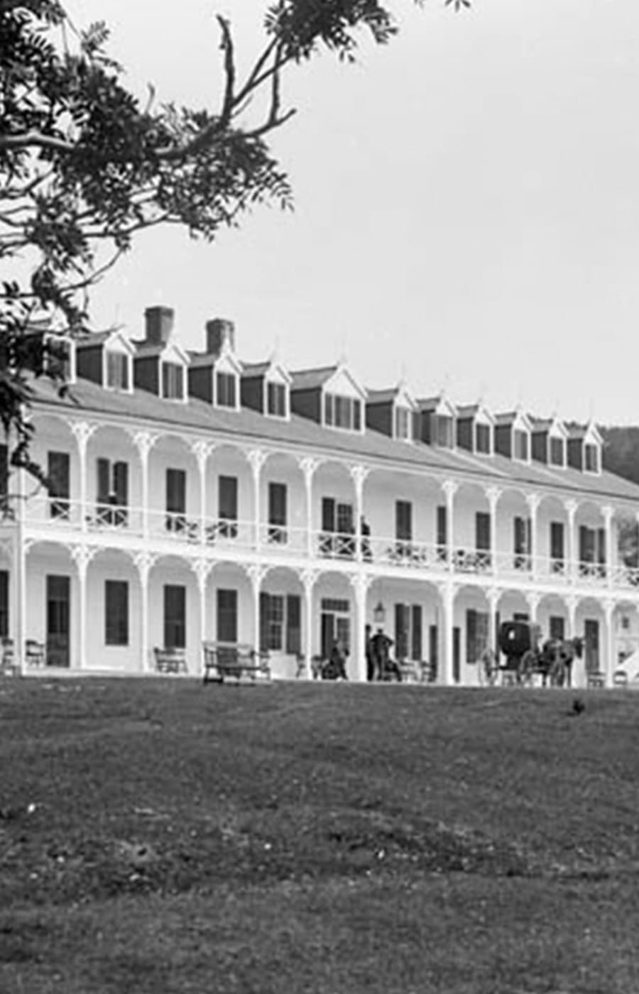 The history of the Hotel Tadoussac